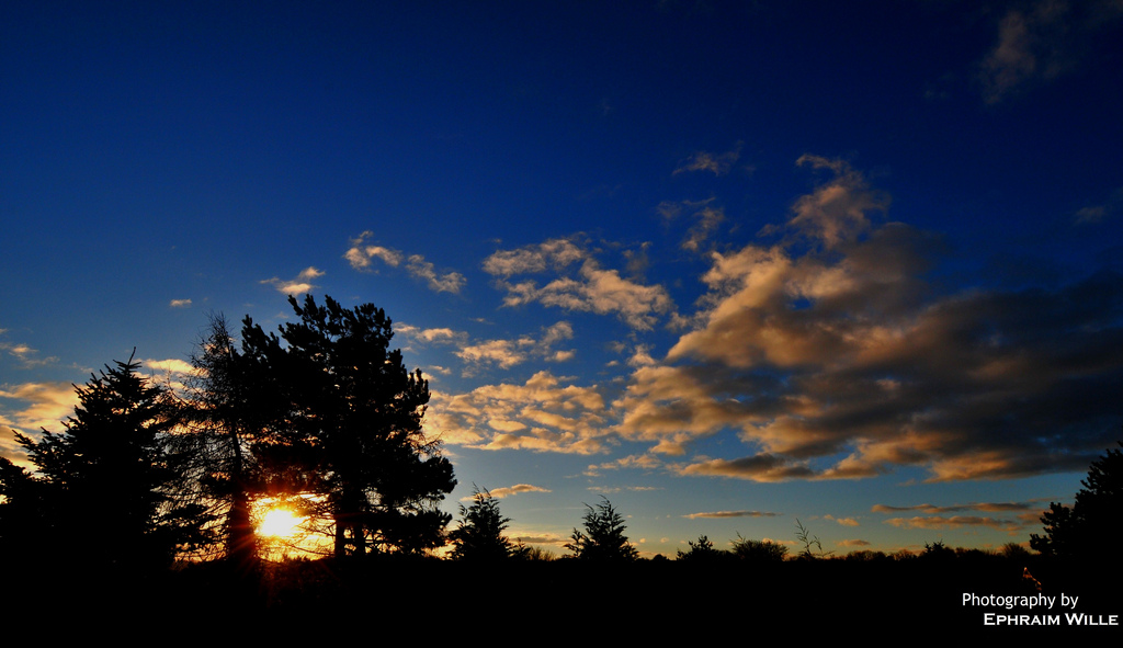 sunrise in Bochum