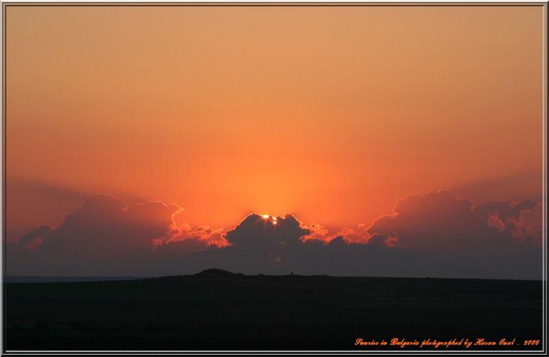 Sunrise in Bulgaria . September.2006