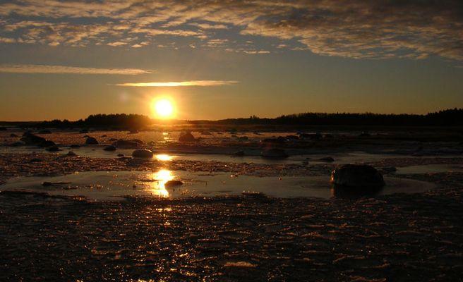 Sunrise in Estland