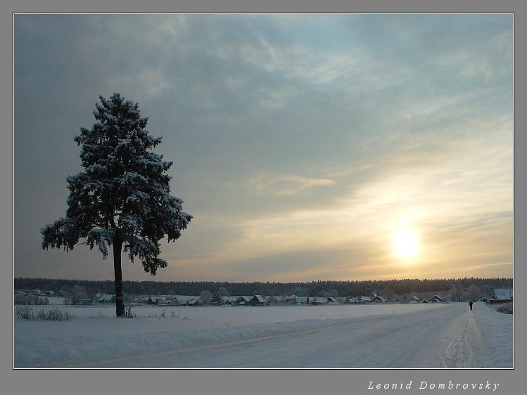 Sunrise in January