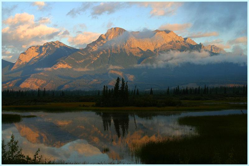 Sunrise in Jasper