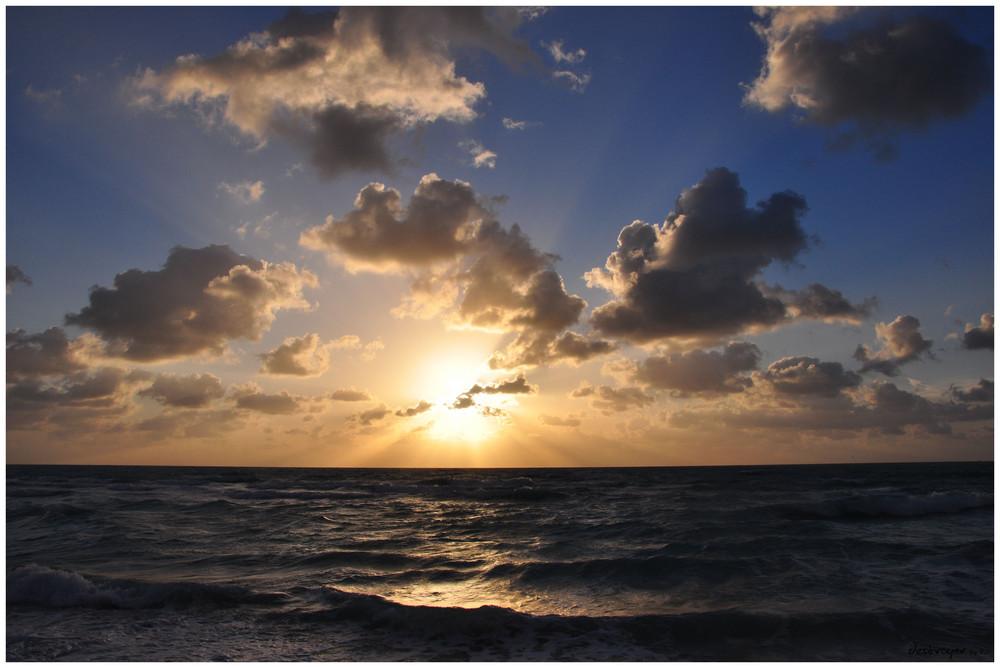 Sunrise in Miami Beach III