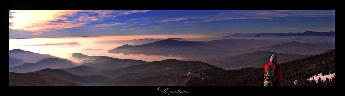 Sunrise in mountains (Slovakia)