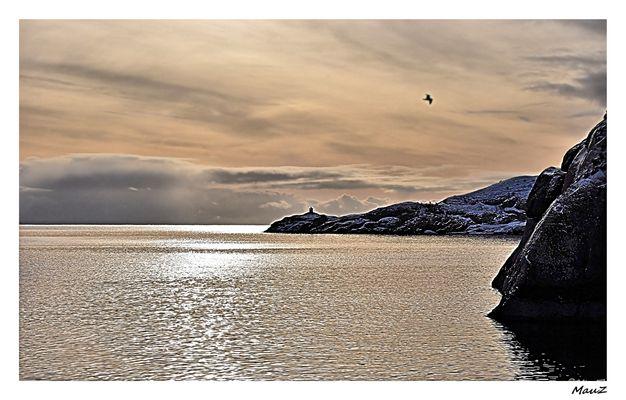 Sunrise in Nusfjord