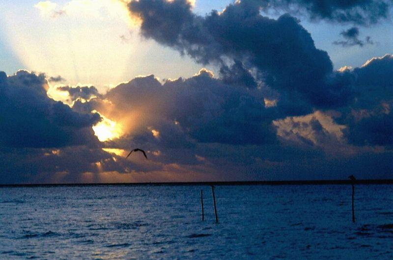 Sunrise in Playa del Carmen/Mexiko