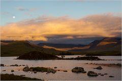 Sunrise in Rannoch Moor