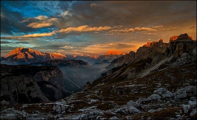 Sunrise in Sesto