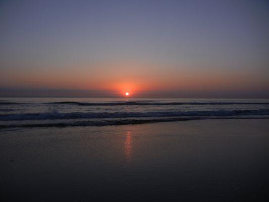 Sunrise in spring time