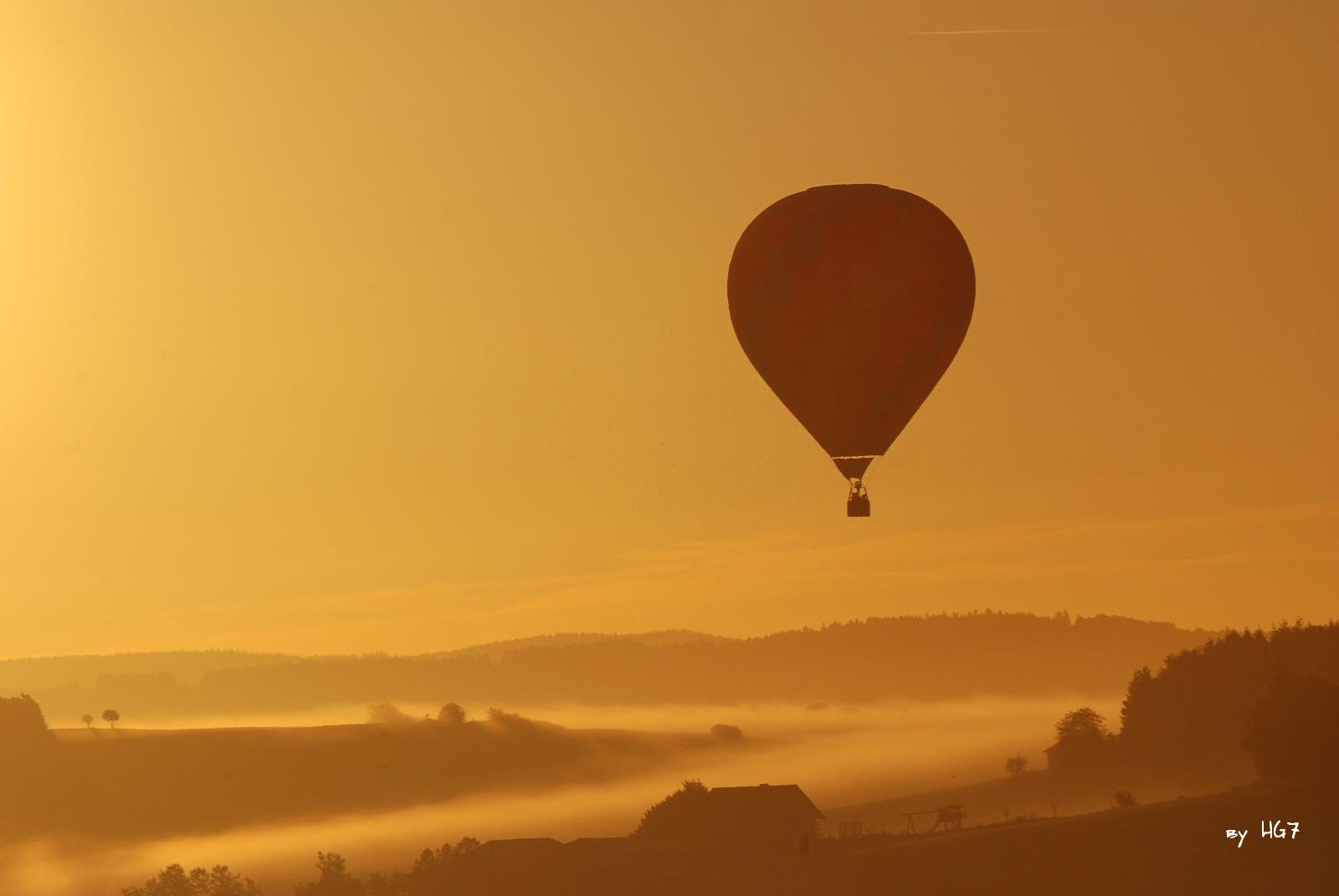 Sunrise in Wershofen