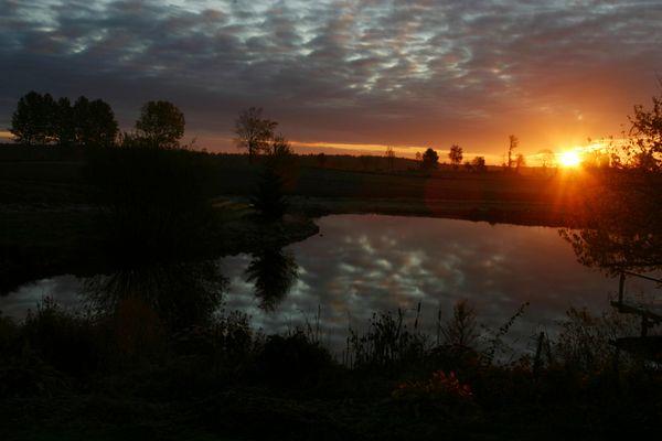 Sunrise! Morgens, wenn die Welt noch in Ordnung ist...