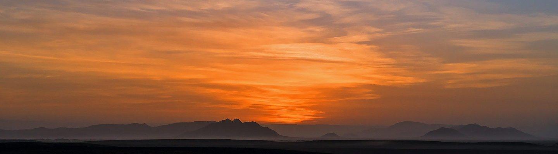 Sunrise Namib