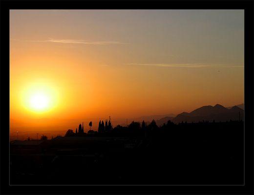 Sunrise of Alfacar