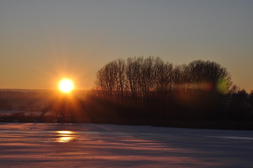 Sunrise on ice Part 2