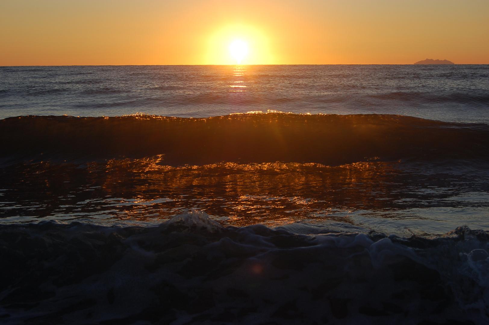 Sunrise on the Ile of Corsica