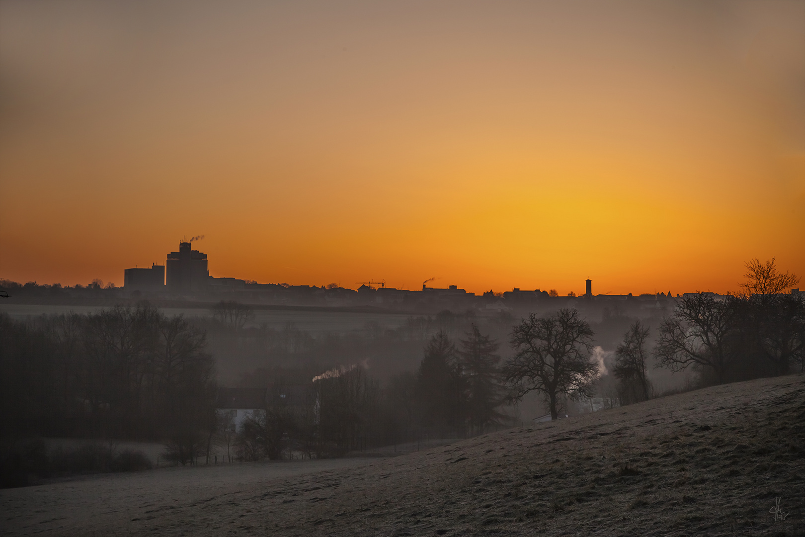Sunrise over Bitburg(er) 2