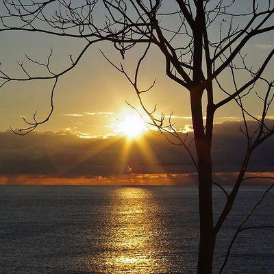 Sunrise over Cote d`Azur