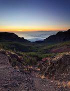 [ ... sunrise over gran canaria ]