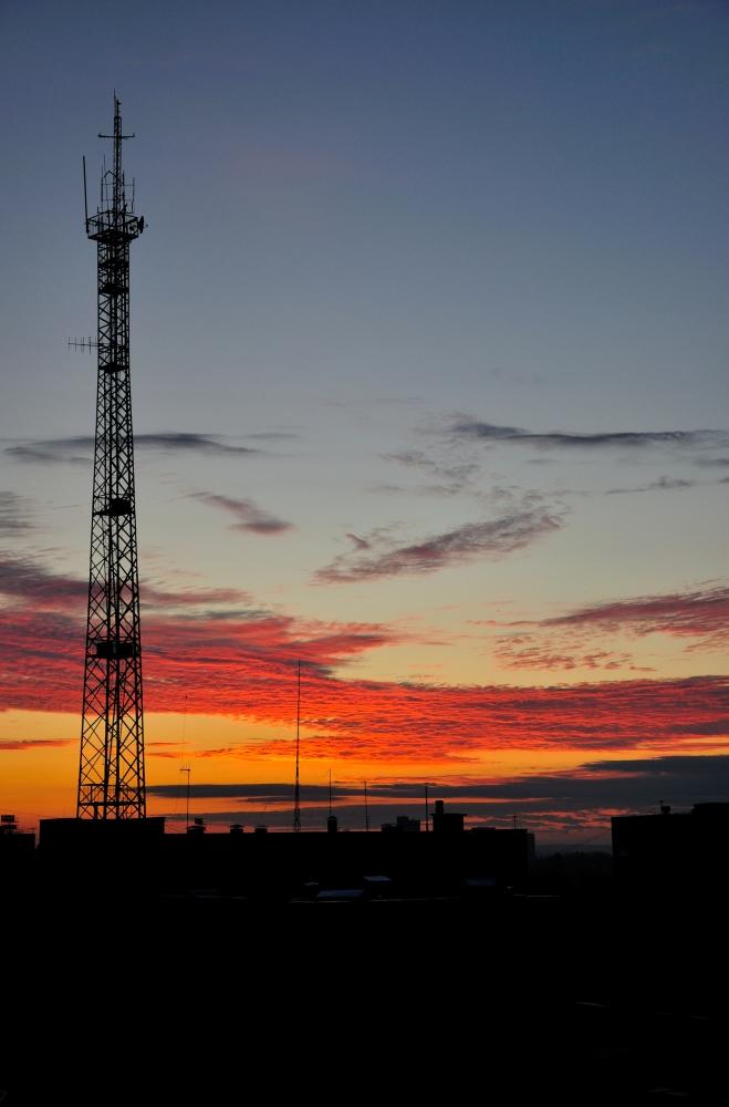 Sunrise over Russia