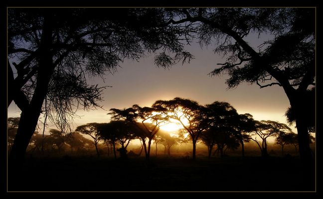 Sunrise over Tanzania (reload)