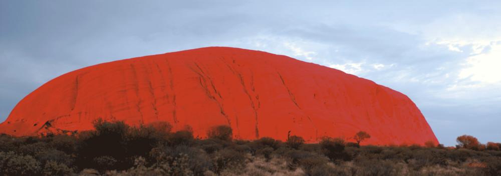 Sunrise Over Uluru 2006