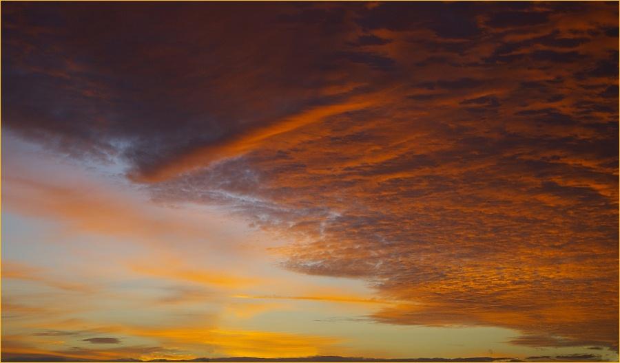 Sunrise Over Wallop