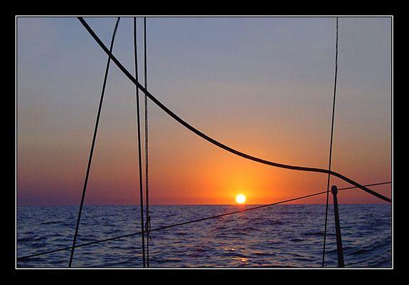 Sunrise vor Ibiza