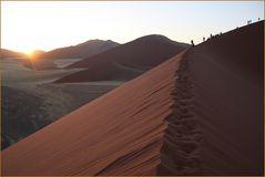SUNRISE  Wüste NAMIBIA