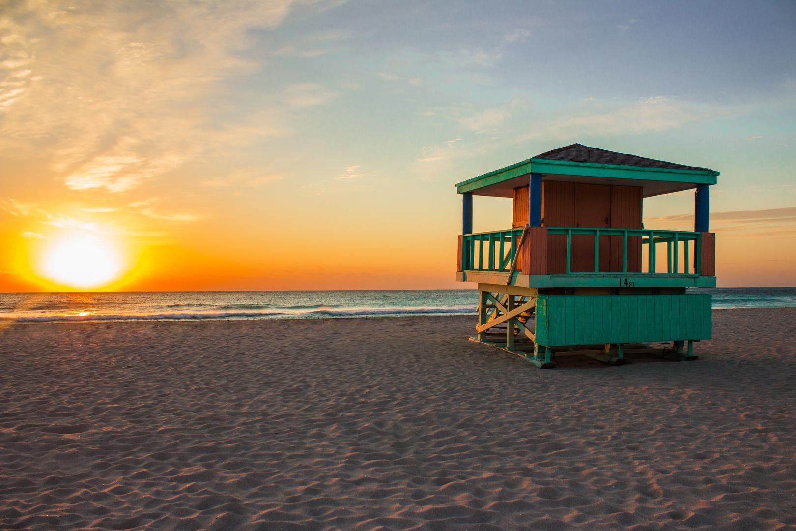 Sunset 14th Street South Beach