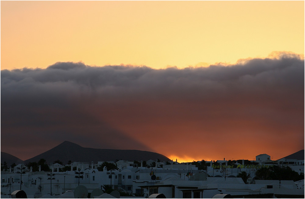Sunset 3 - Lanzarote