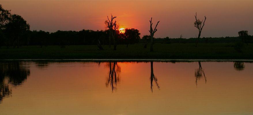 ** sunset **
