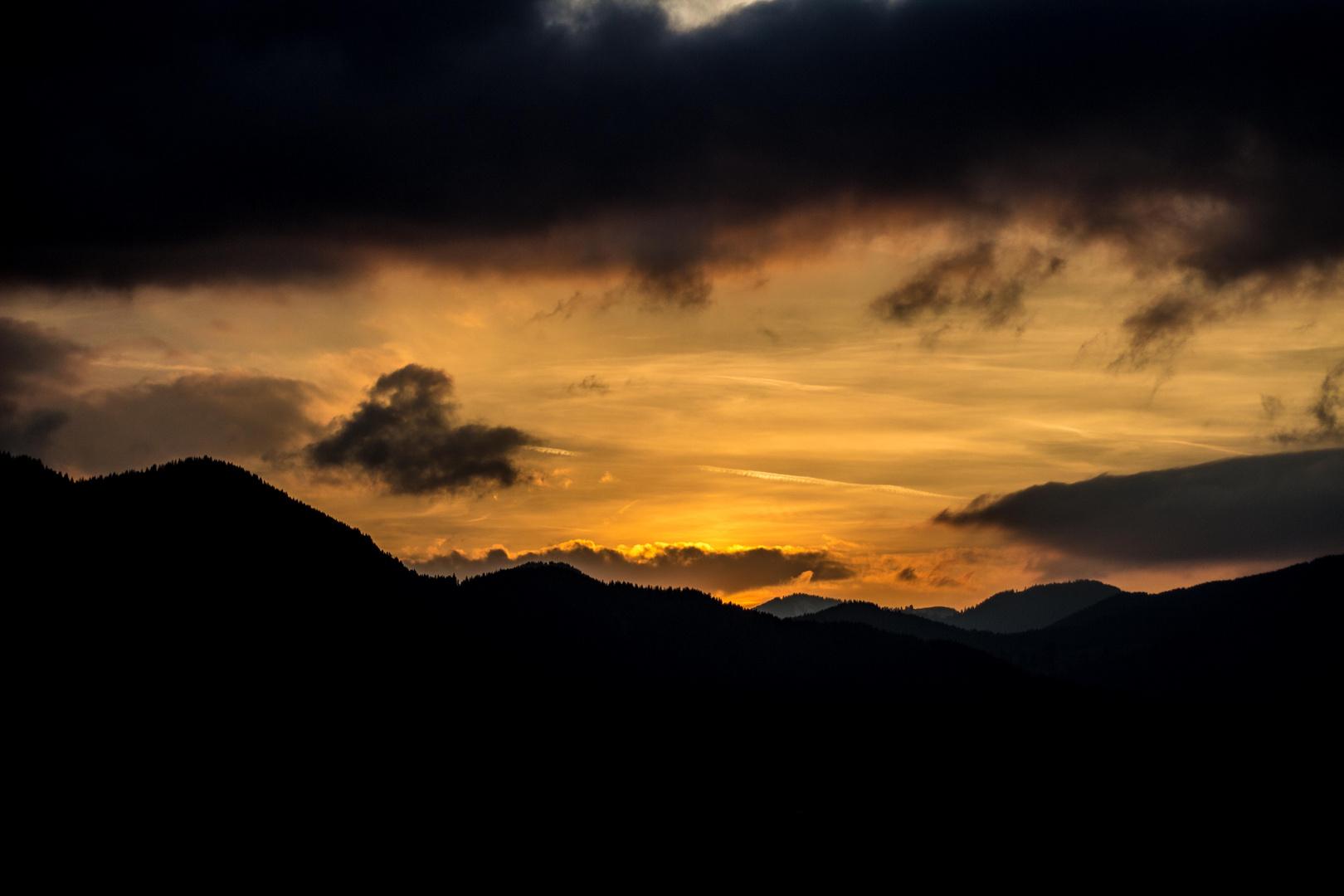 Sunset à la Spotz