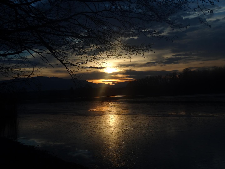 Sunset Abtsdorfer See