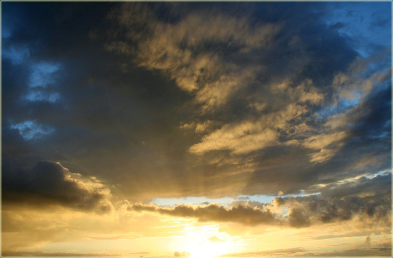 Sunset ---