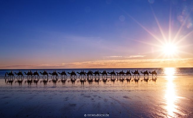 Sunset am Cable Beach in Broome | Australien