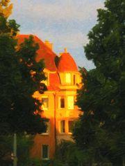 Sunset am FC-Stammtisch in Basel