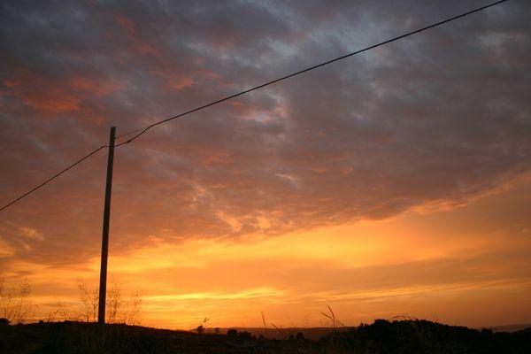 Sunset am Gargano