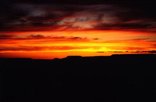 Sunset am Grand Canyon