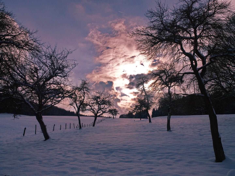 Sunset am Heidentempel