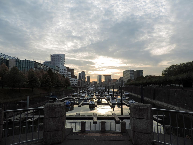 Sunset am Medienhafen