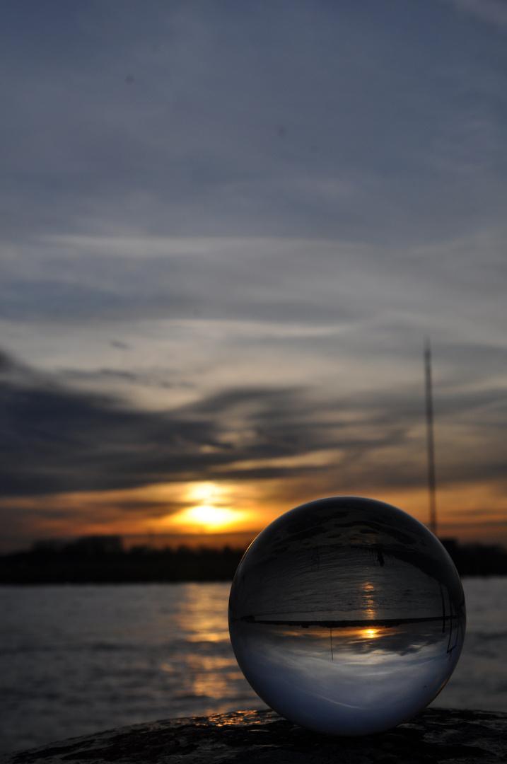 Sunset am Niederrhein...