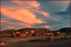 Sunset am Rande der Einsamkeit- Argentinien