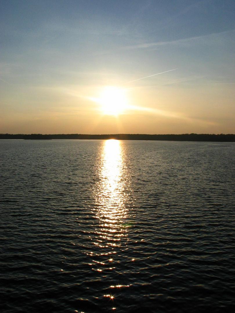 Sunset am Tegler See