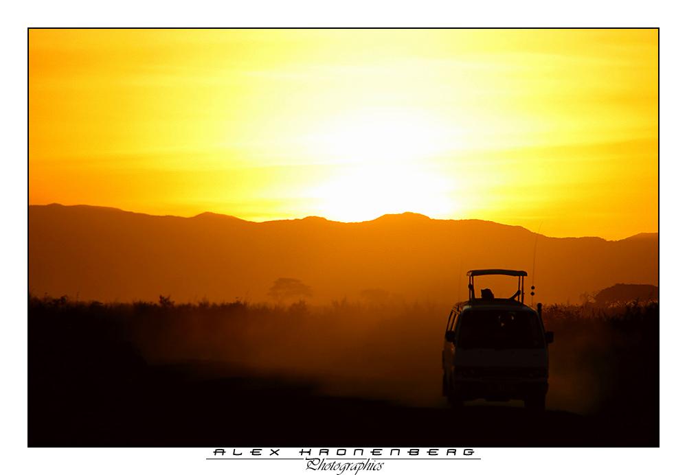 Sunset Ambosselli Safari