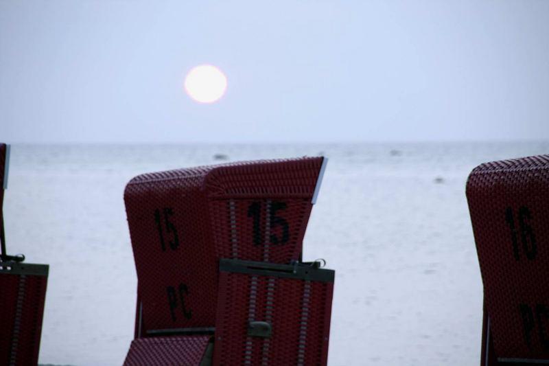 Sunset an der Ostsee