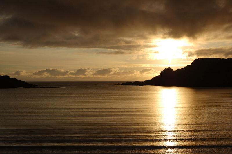 Sunset At Bannamin Beach,Papil,Burra,Shetland Islands