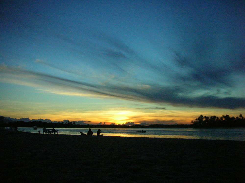 Sunset at Boipeba Island