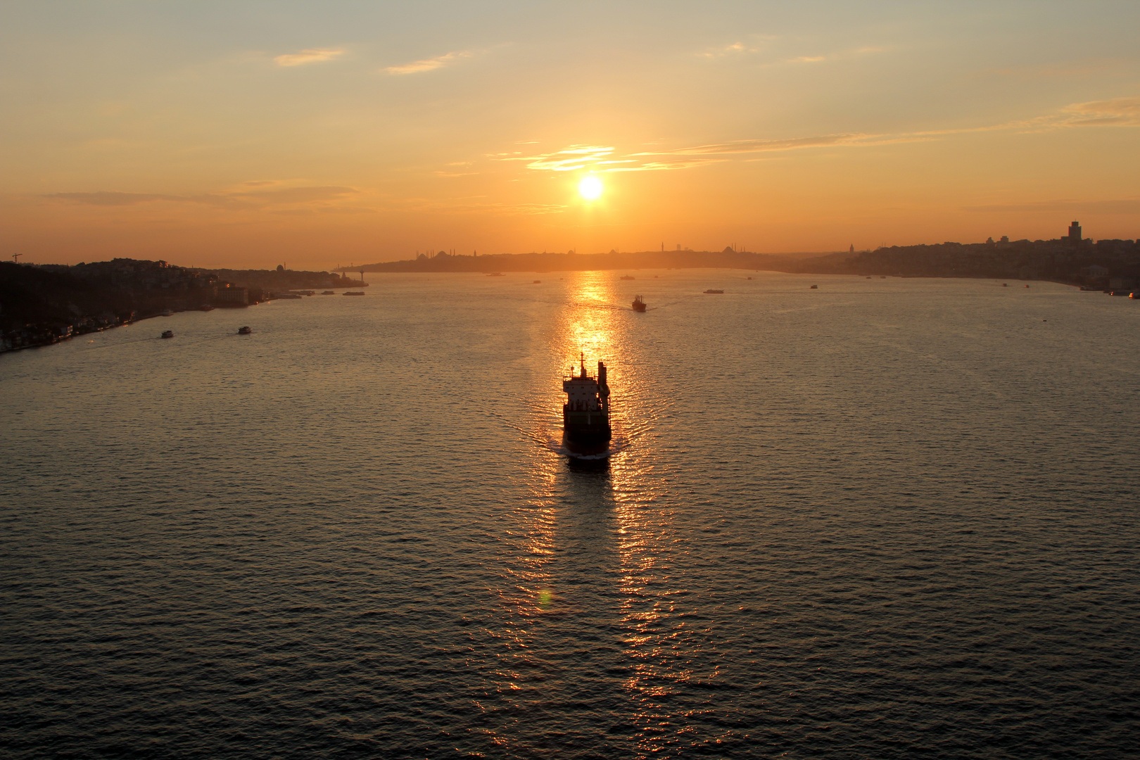 Sunset at Bosphorus