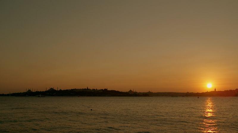 Sunset at Bosphorus ...