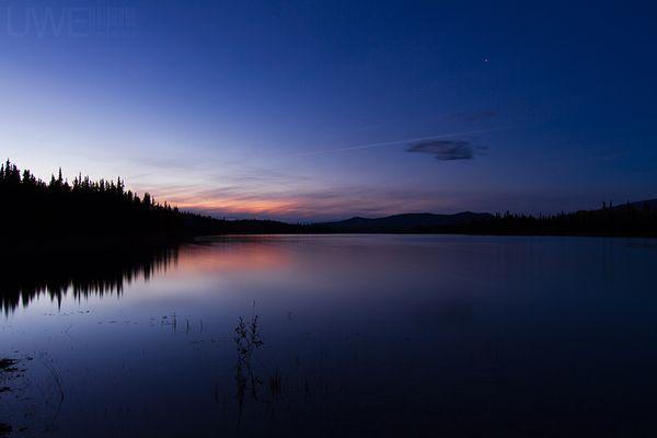 Sunset at Boya-Lake