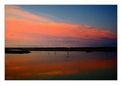 Sunset at Chincoteague Island